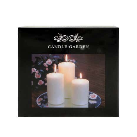 Church Candle Garden Cream