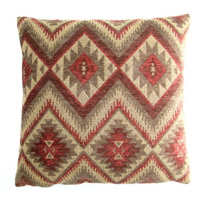Large Tonto Wine Cushion Cover