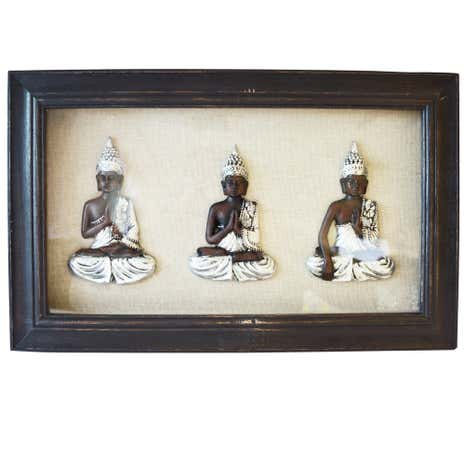 Framed Buddahs Wall Art