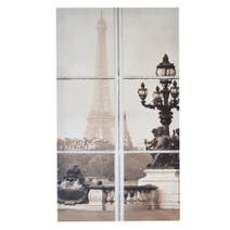 Paris Window Printed Canvas