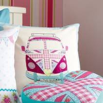 Kids Union Jack Camper Van Cushion