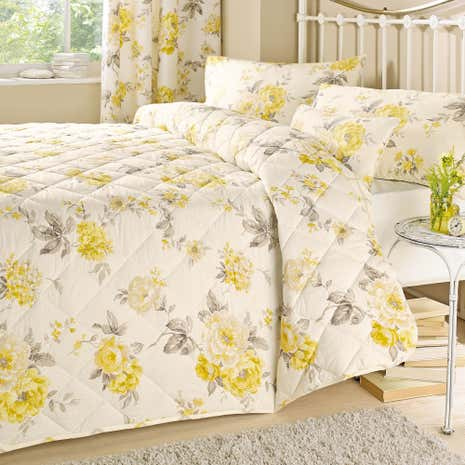 Windermere Lemon Bedspread