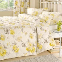 Lemon Windermere Bedspread