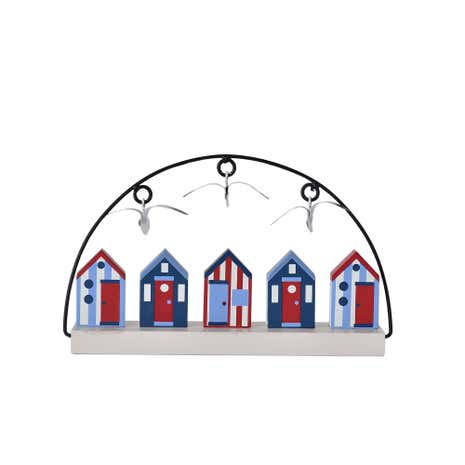 Beach Hut Hand Painted Beach Huts
