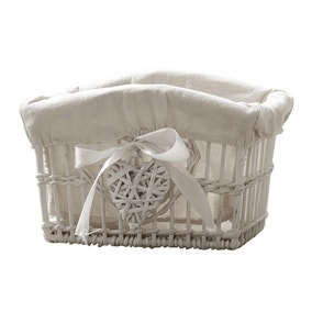 White Willow Small Basket