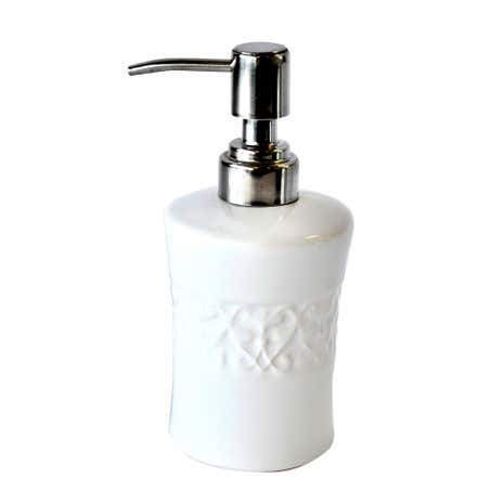 Embossed Swirl Lotion Dispenser