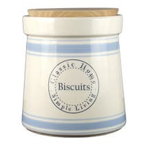 Classic Home Biscuit Canister