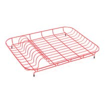 Red Spectrum Plate Rack