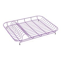 Spectrum Purple Plate Rack