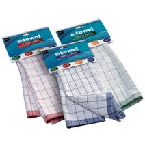 E-Cloth Classic Check E-Towel