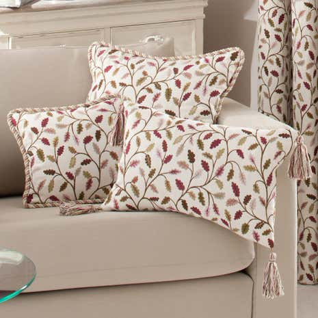 Heritage Damson Glava Small Cushion