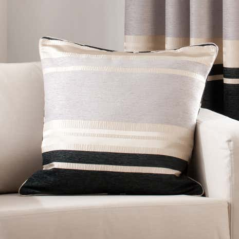 Portobello Black Cushion