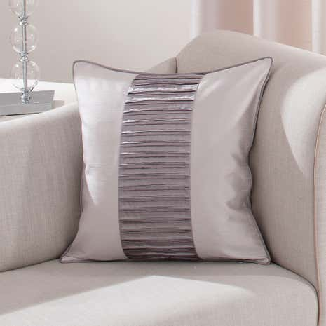 Silver Montreal Cushion
