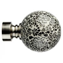 Mix And Match Dia. 28mm Mirrored Ball Finials