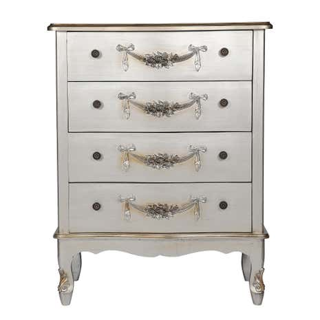 Toulouse Silver Wide  Drawer Chest
