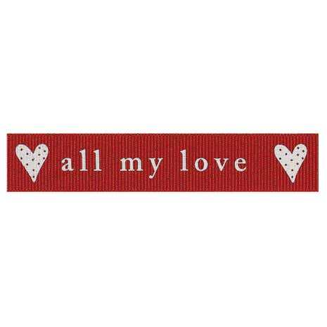 All My Love Ribbon