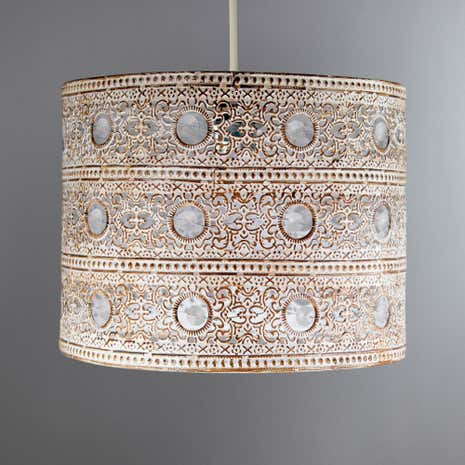Annabelle Metal Painted Pendant Shade