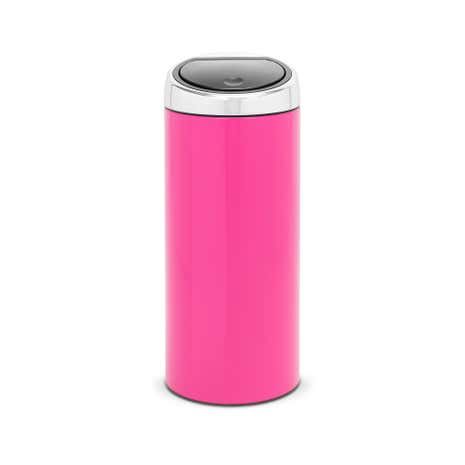 Brabantia Pink 30 Litre Lacquered Steel Touch Bin