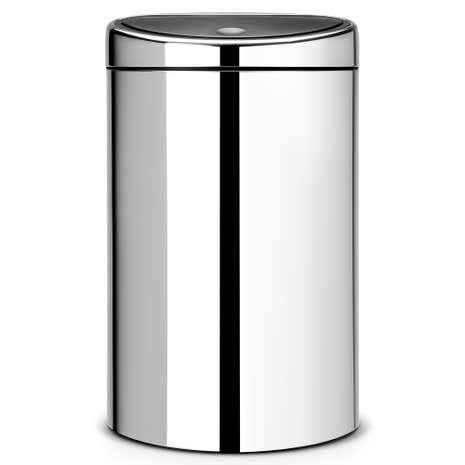 Brabantia Brilliant Steel 40-Litre Touch Bin
