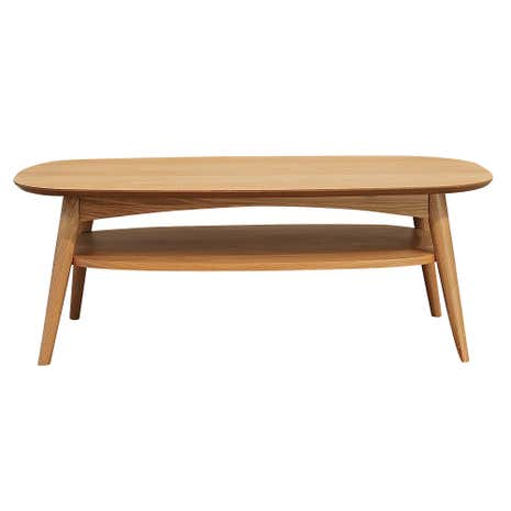 skandi oak coffee table dunelm