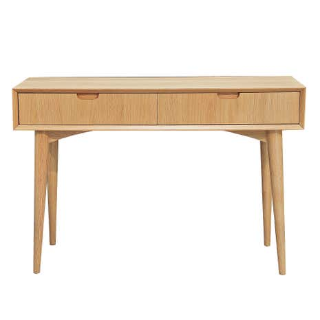 Skandi Oak Console Table with Drawer