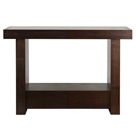 Wade Walnut Console Table