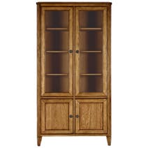 Madeline Oak Display Cabinet