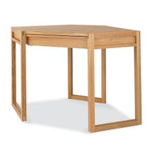 Edison Oak Corner Desk