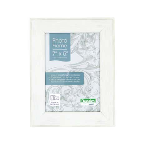Cream Distressed Look Photo Frame