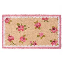 Rose and Ellis Allexton Rosebud Coir Doormat