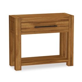 Columbia Acacia Dark Wood Console Table