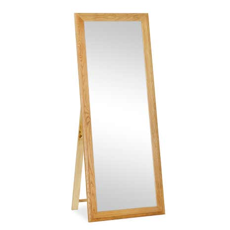 Gainsborough Oak Cheval Mirror