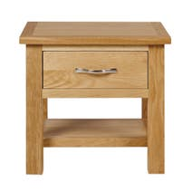 Hampshire Oak Lamp Table