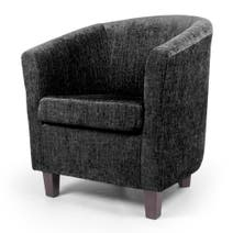 Maurice Chenille Tub Chair