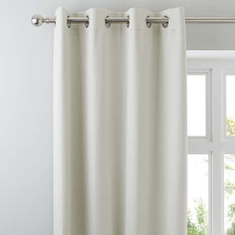 High Quality Solar Natural Blackout Eyelet Curtains
