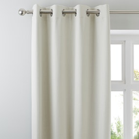 Solar Natural Blackout Eyelet Curtains