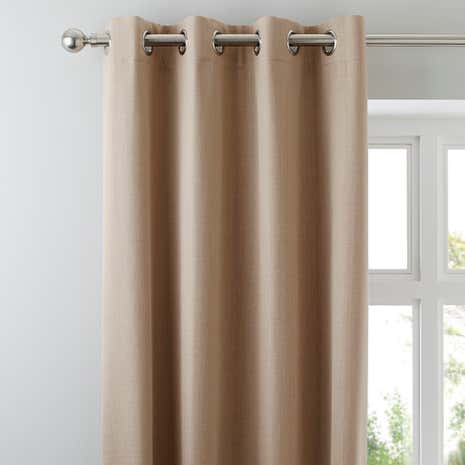 solar biscuit blackout eyelet curtains - Blackout Curtain