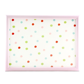 Candy Country Spot Lap Tray