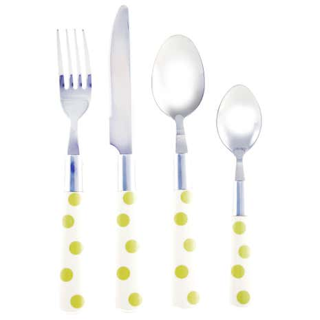 Country Sage Spot 16 Piece Cutlery Set