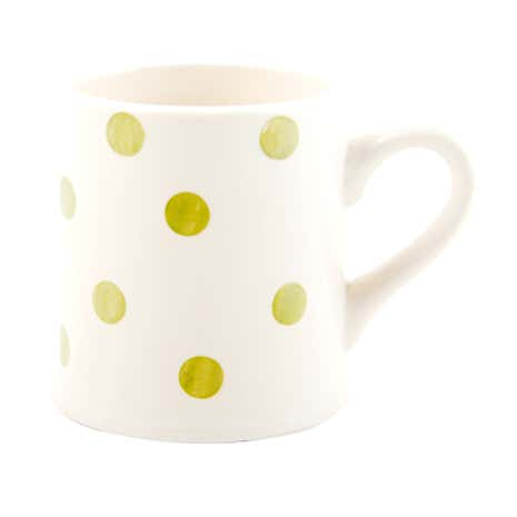 Country Sage Spot Footed Mug