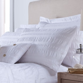 Adeena White Housewife Pillowcase
