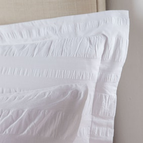 Adeena White Oxford Pillowcase
