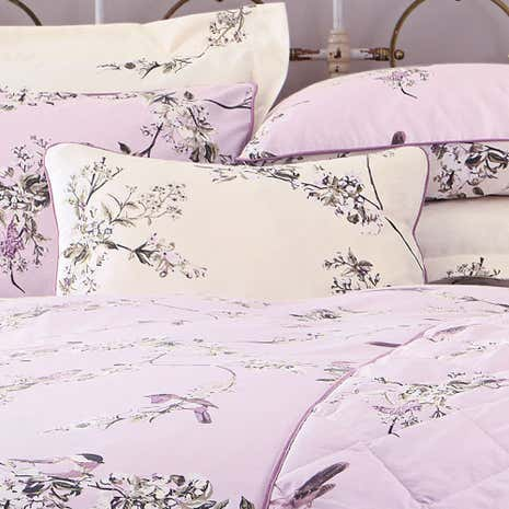 Beautiful Birds Heather Boudoir Cushion