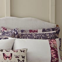 Flora Patchwork Mauve Oxford Pillow Sham