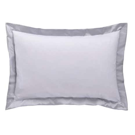Nina Silver Oxford Pillowcase