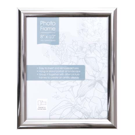 Chrome Effect Photo Frame