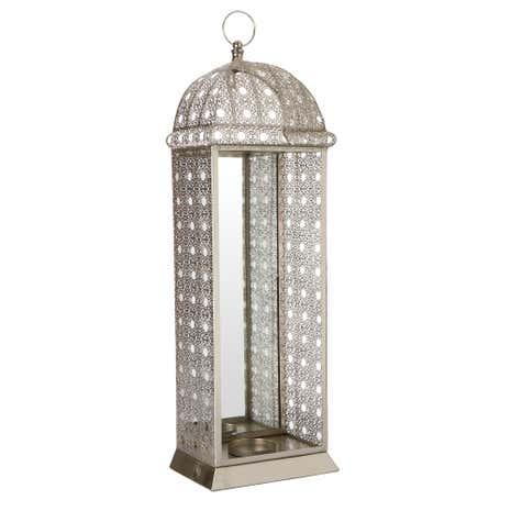 morrocan silver candle holder. Black Bedroom Furniture Sets. Home Design Ideas