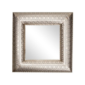 Moroccan Cut Out Mirror
