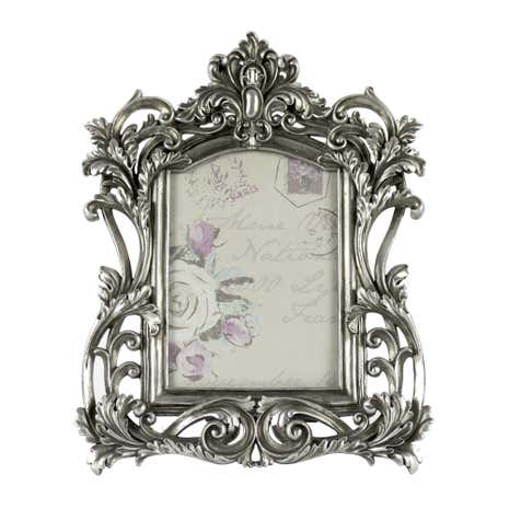 Maison Chique Silver Ornate Frame