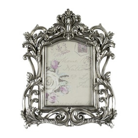 Maison Chic Silver Ornate Frame